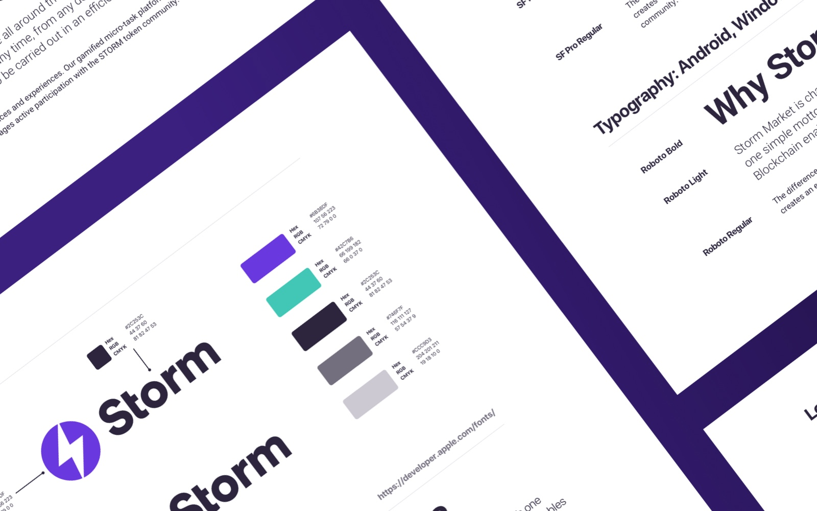 Storm brand guidelines